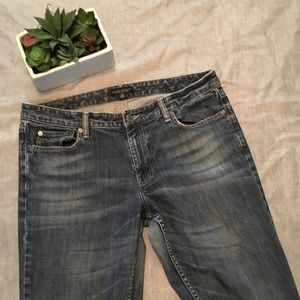 Banana Republic Low Rise Boot Cut Jeans